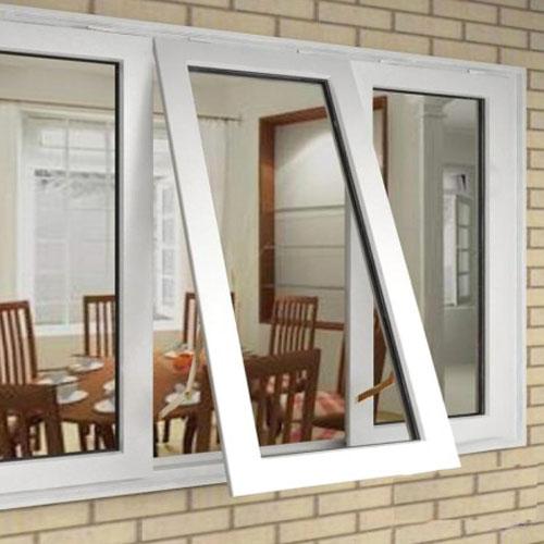 cửa sổ nhôm kính mở lật