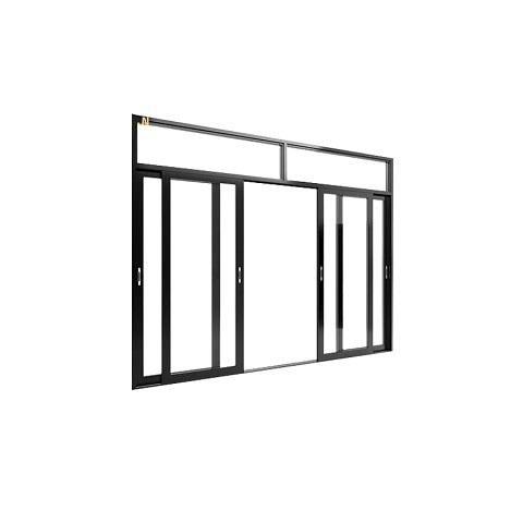 cửa đi mở lùa 4 cánh - cửa nhôm soco 65 tại đà nẵng