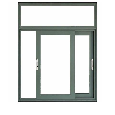 cửa sổ mở lùa kết hợp vách kính