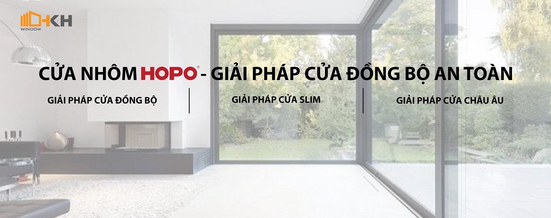 cửa nhôm HOPO nhập khẩu - HKH WINDOW Đà Nẵng