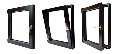 cửa sổ mở quay lật trong HOPO- HKH WINDOW