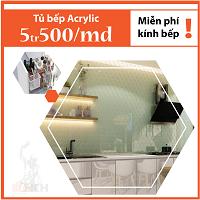 tủ bếp acrylic đà nẵng