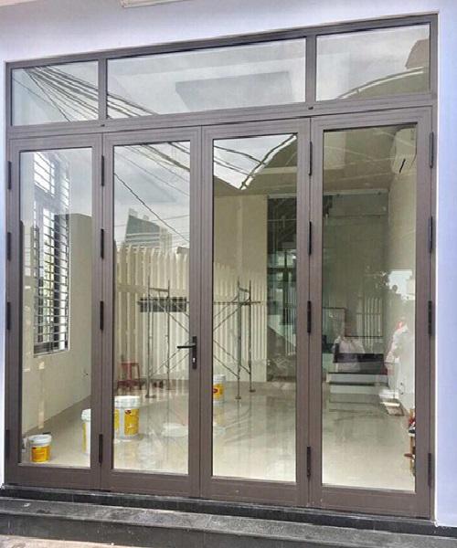 Mẫu cửa nhôm xingfa 4 cánh đẹp tại Quy Nhơn - HKH Window