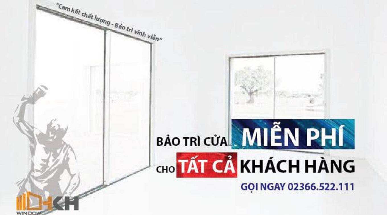 sửa cửa nhôm XIngfa tại đà nẵng - HKH WINDOW