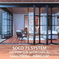 Cửa nhôm Soco 75 System - HKH Window