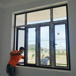 LẮP ĐẶT CỬA NHÔM SOCO SYSTEM TẠI ĐÀ NẴNG - HKH WINDOW