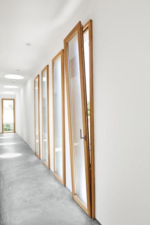 cửa sổ mở quay lật - phụ kiện Cmech cửa nhôm Châu Âu - HKH WINDOW