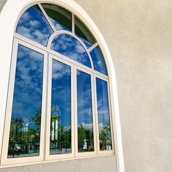 hkh window thi công cửa nhôm soco 65 system - cửa nhôm uốn vòm tại đà nẵng